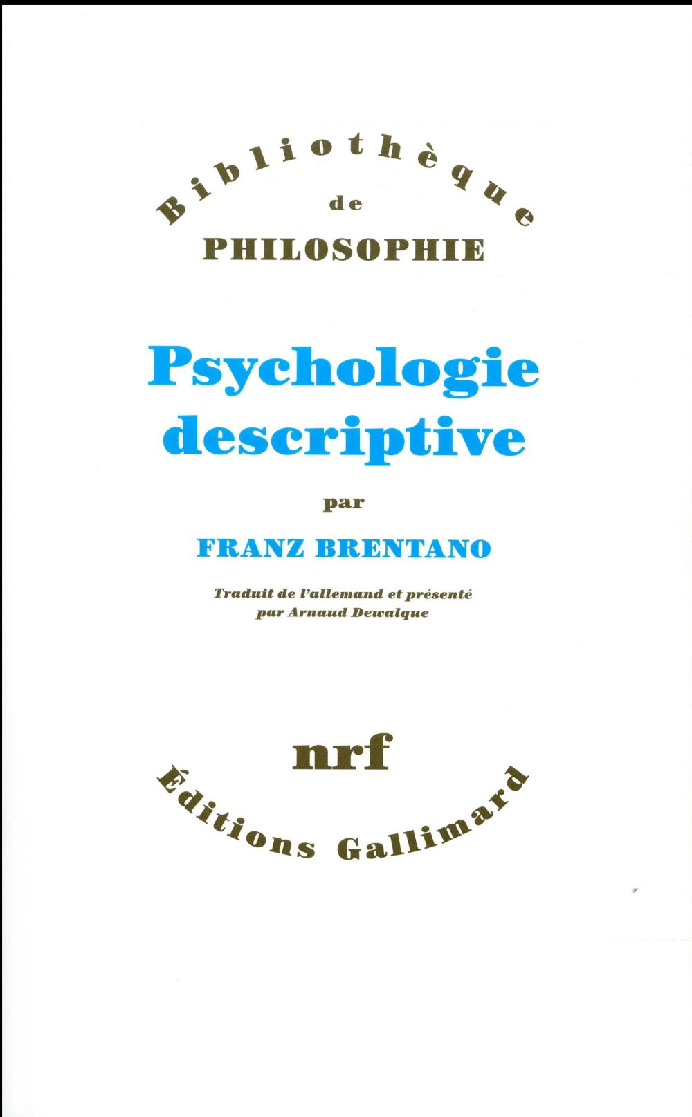 Psychologie descriptive