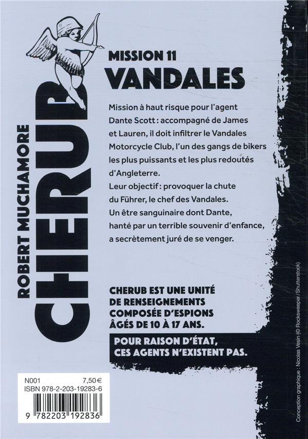 Cherub mission t.11 ; vandales