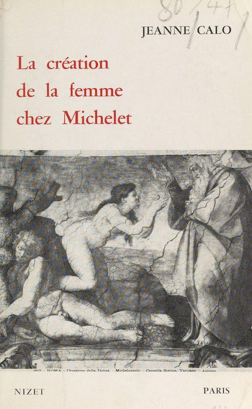 La création de la femme chez Michelet