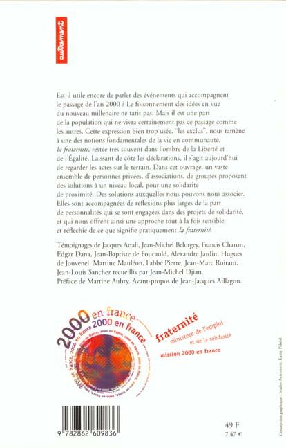 Fraternité 2000