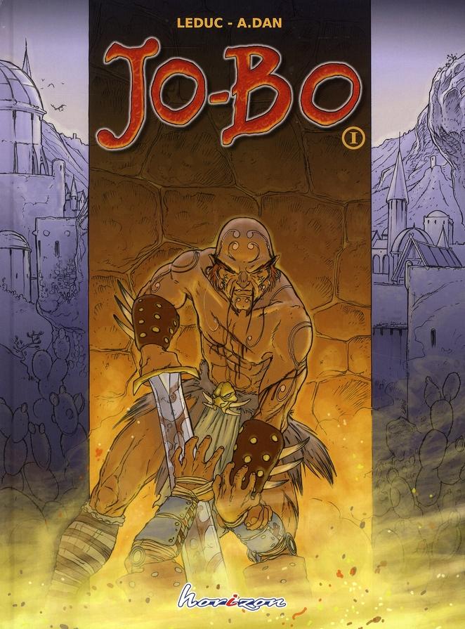Jo-Bo t.1 ; le cratère de Rongo