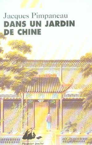 Dans un jardin de chine