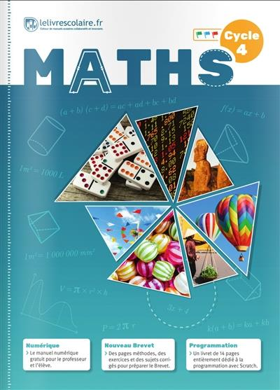 Mathematiques ; Cycle 4 (Edition 2016)