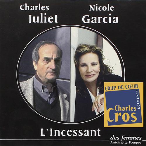 Vente AudioBook : L'Incessant  - Charles Juliet