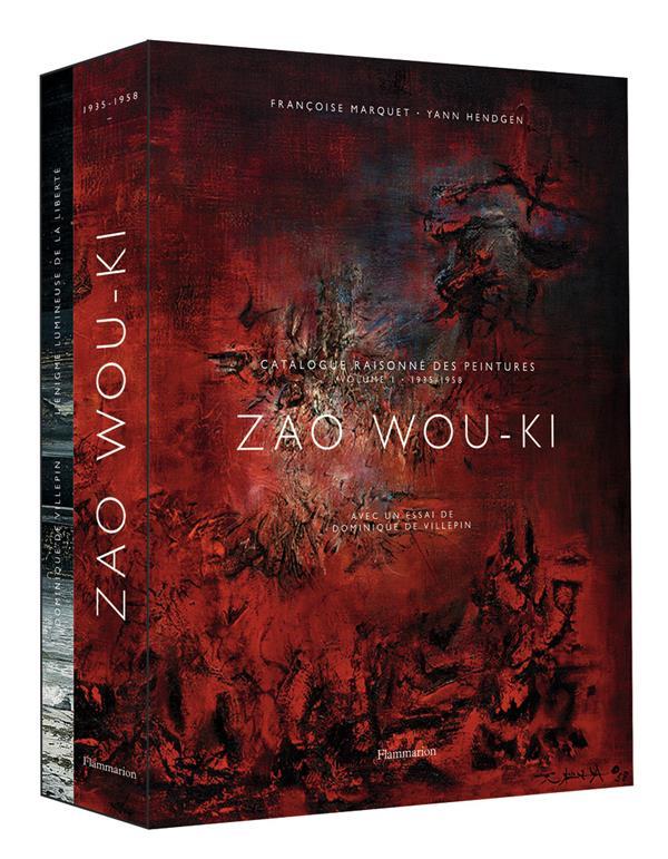Zao Wou-Ki ; catalogue raisonné des peintures t.1 : 1935-1958