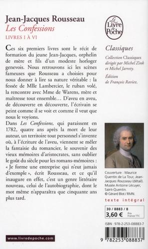 Les confessions t.1 (édition 2012)