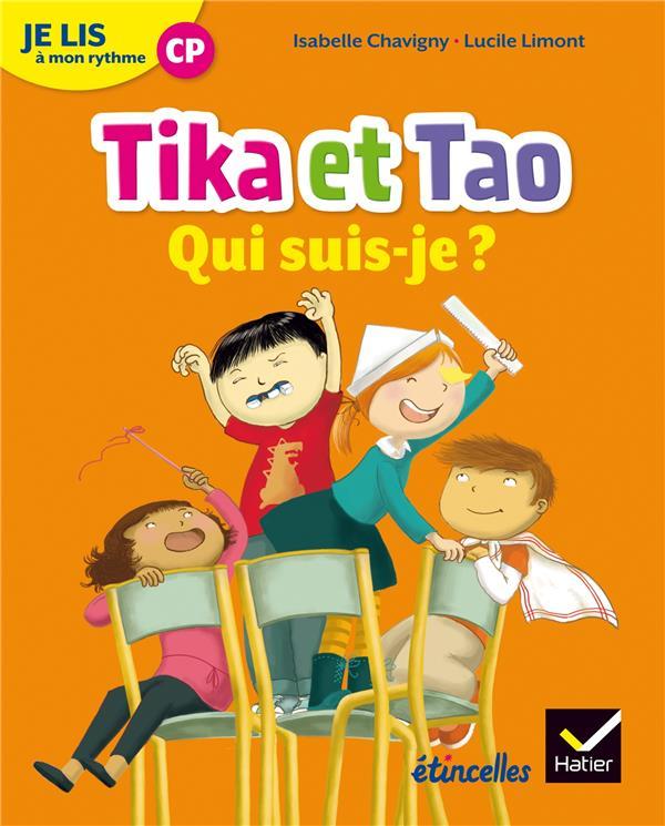 Etincelles ; Lecture ; Cp ; Je Lis A Mon Rythme ; Tika Et Tao ; Qui Suis-Je ? (Edition 2018)