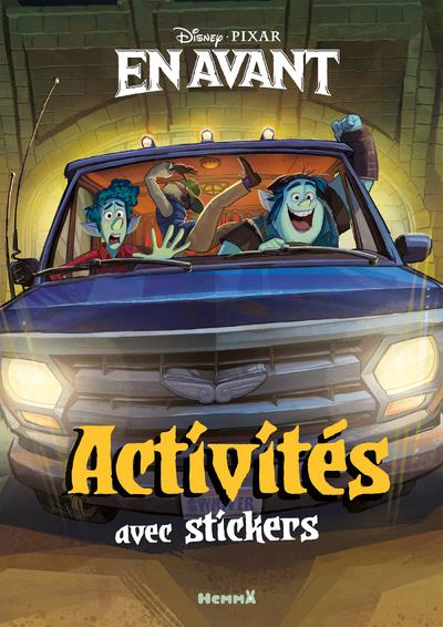 Disney En Avant ; Activites Avec Stickers