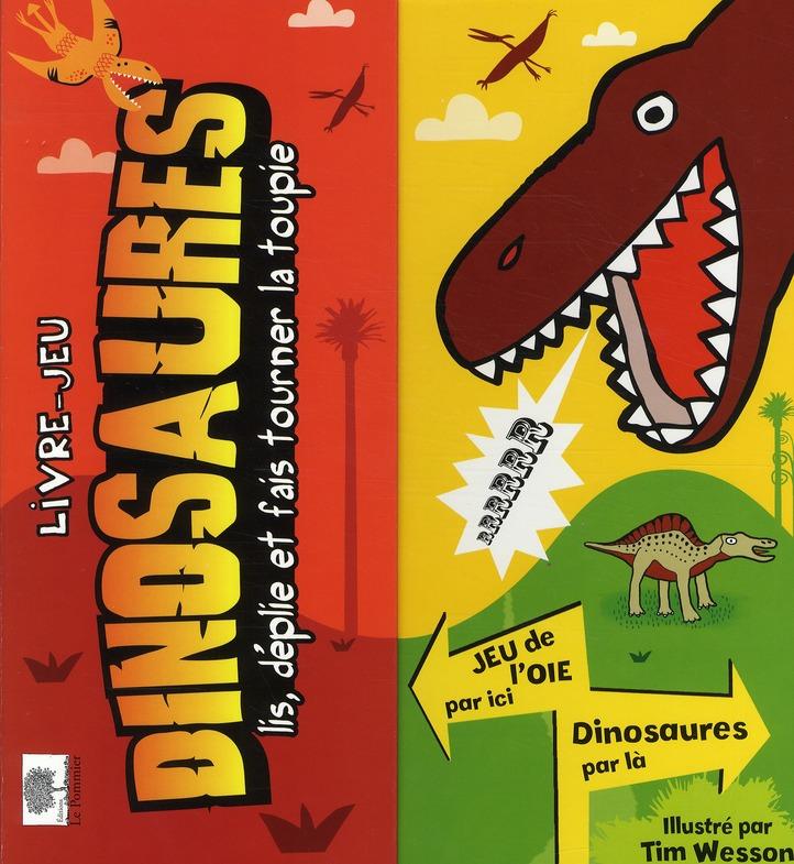Les dinosaures ; livre-jeu