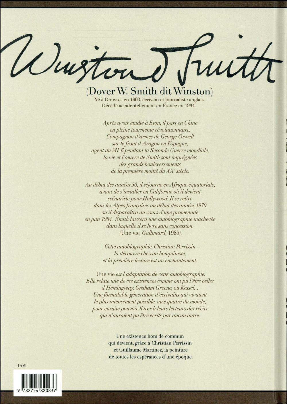 Une vie ; Winston Smith (1903-1984), la biographie retrouvée T.3 ; mars 1925-avril 1926, a chinese year