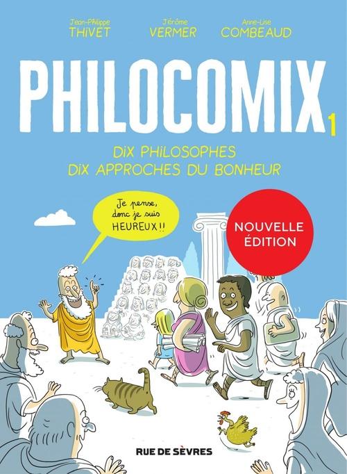 philocomix t.1 ; dix philosophes, dix approches du bonheur