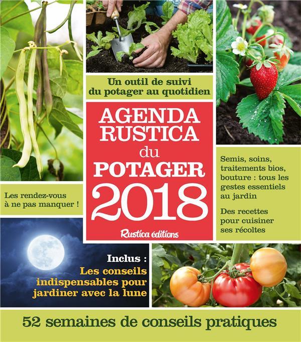 Agenda Rustica du potager (édition 2018)
