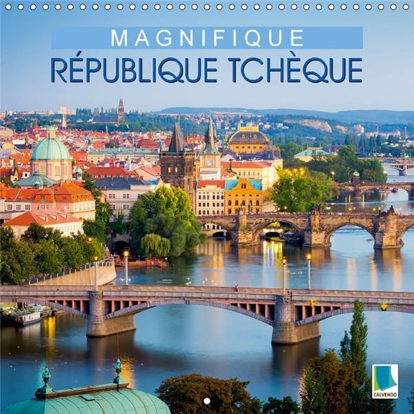 Magnifique République tchèque (calendrier mural 2017 Square)