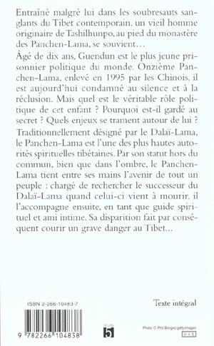Panchen lama guendun l'enfant oublie du tibet