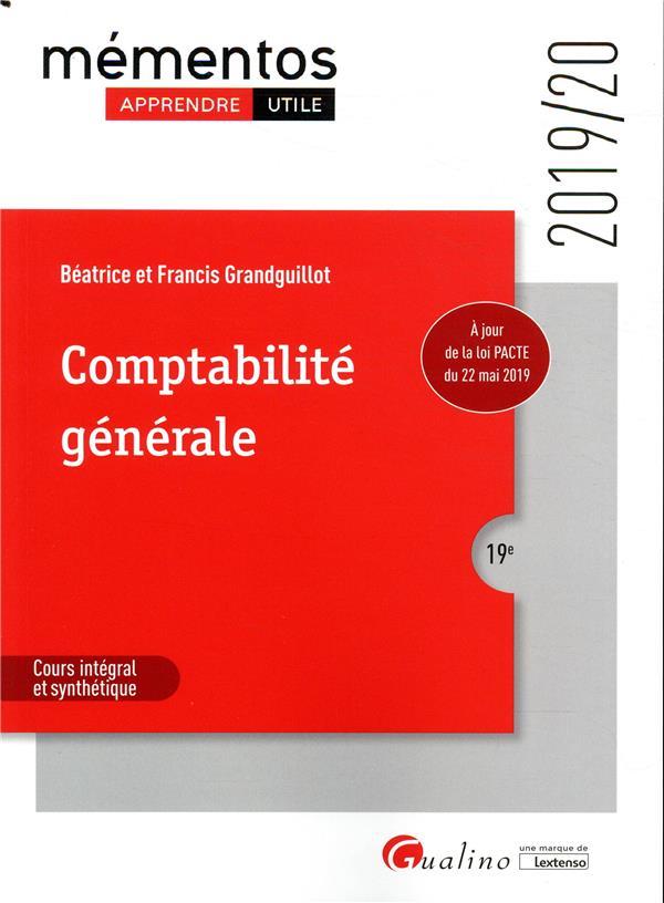 Comptabilite générale (édition 2019/2020)