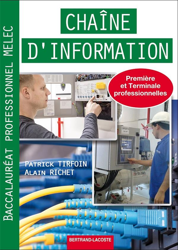 Chaine d'information systemes industriels bac pro melec