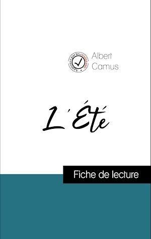 Analyse de l'oeuvre : L'Été (résumé et fiche de lecture plébiscités par les enseignants sur fichedelecture.fr)