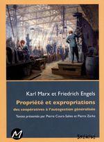 Vente EBooks : Propriété et expropriations  - Karl MARX - Friedrich Engels