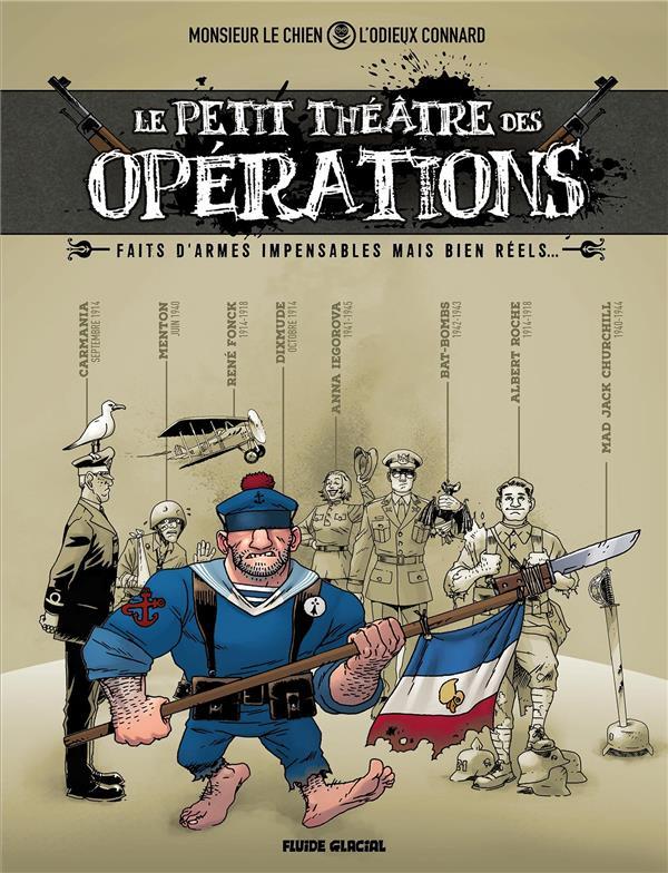 Le petit théâtre des opérations ; faits d'armes impens