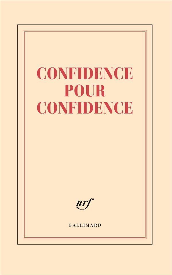 Confidence pour confidence