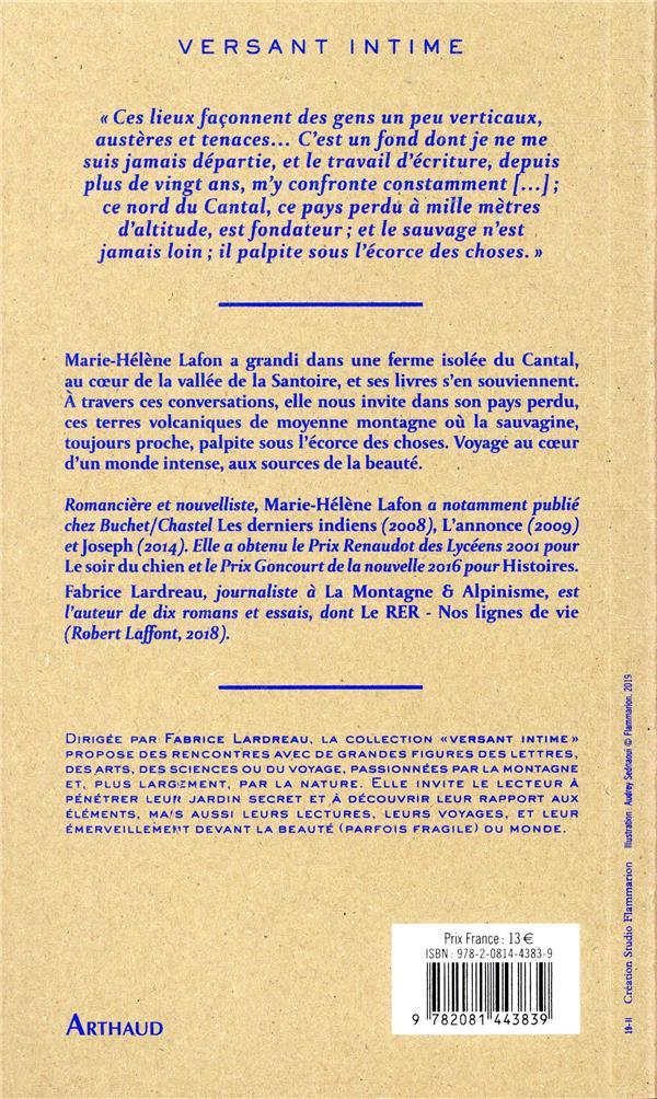 le pays d'en haut ; entretiens avec Fabrice Lardreau