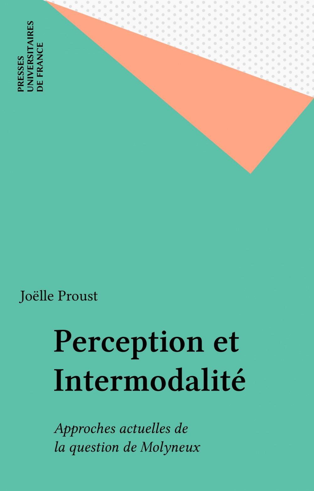 Perception et intermodalite