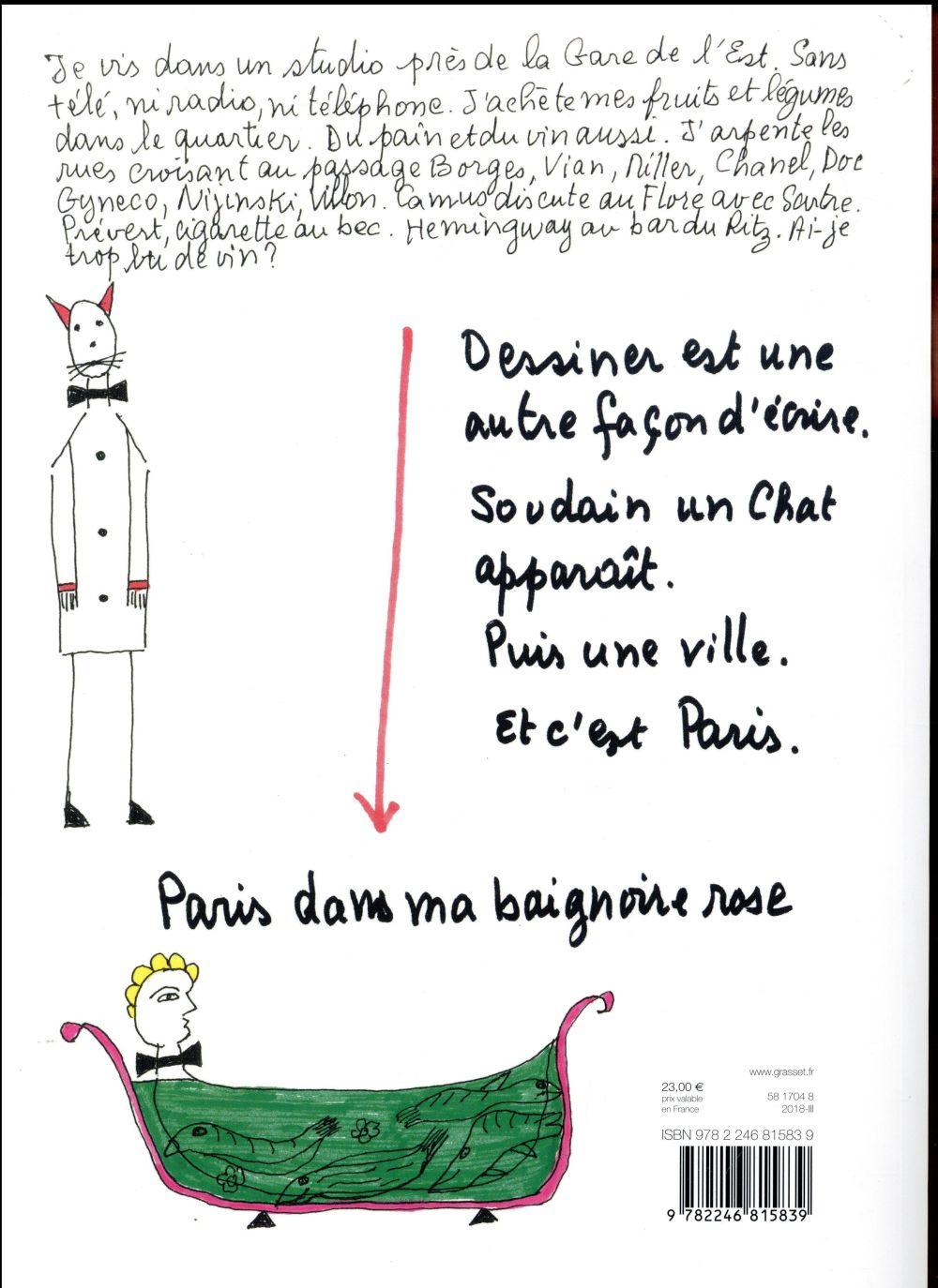 Autoportrait de Paris avec chat