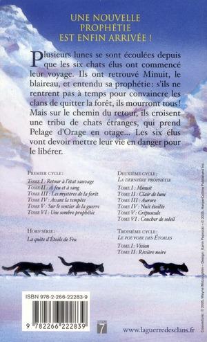 La guerre des clans - cycle 2 ; la dernière prophétie t.2 ; clair de lune