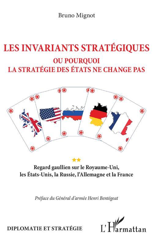 Les invariants stratégiques - ou pourquoi la stratégie des états ne change pas