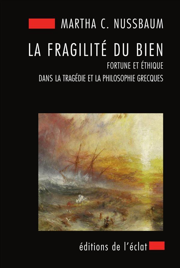 La fragilité du bien ; fortune et éthique dans la tragédie et la philosophie grecques