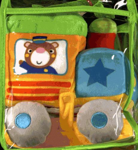 mon petit doudou ; mon train