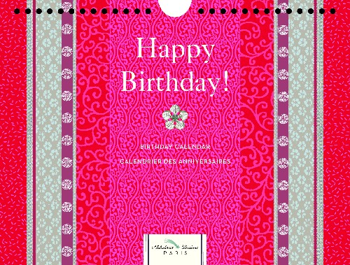 Calendrier anniversaire Kimono