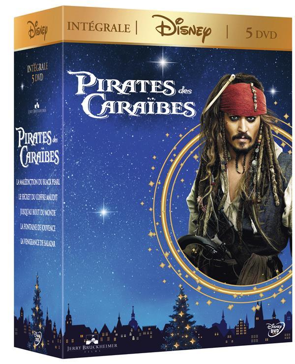 coffret pirates des Caraïbes 5 films