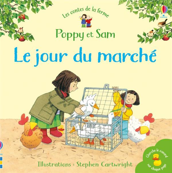 POPPY ET SAM  -  LE JOUR DU MARCHE