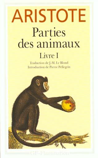 PARTIES DES ANIMAUX - LIVRE 1