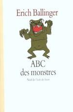 Couverture de Abc des monstres