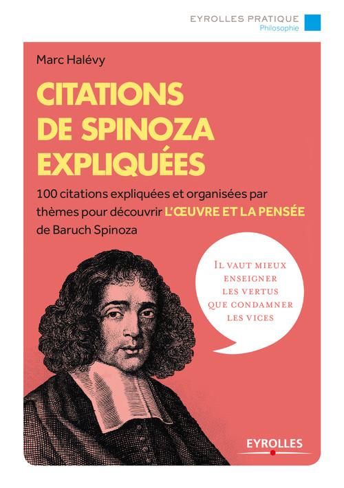 Citations de Spinoza expliquées (2e édition)