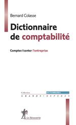 Vente EBooks : Dictionnaire de comptabilité  - Bernard COLASSE