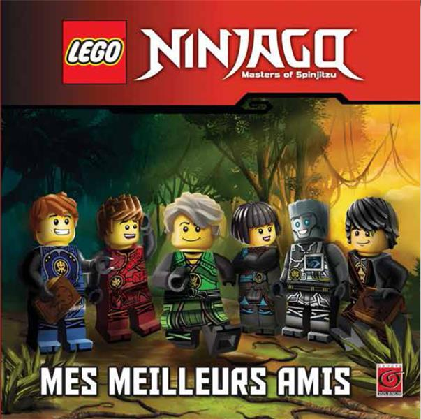 Lego Ninjago - masters of Spinjitzu ; mes meilleurs amis