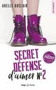 Secret défense d'aimer - tome 2  - Axelle Auclair