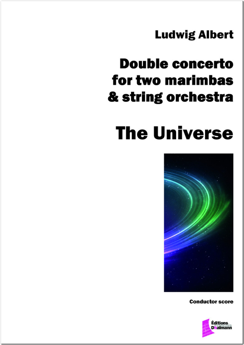The Universe ; double concerto for two marimbas and string orchestra