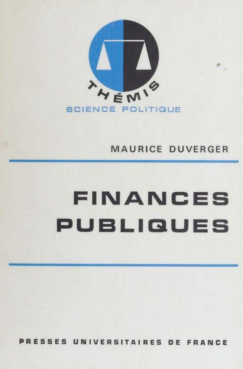 Finances publiques