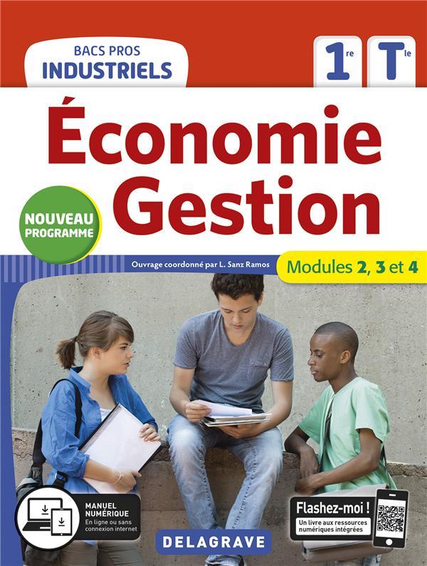 économie gestion ; 1re, terminale bacs pros industriels ; pochette élève (édition 2020)