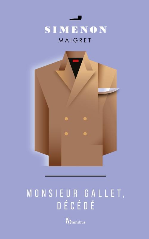 Monsieur Gallet, décédé  - Georges Simenon (1903-1989)