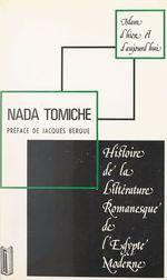 Histoire de la littérature romanesque de l'Égypte moderne