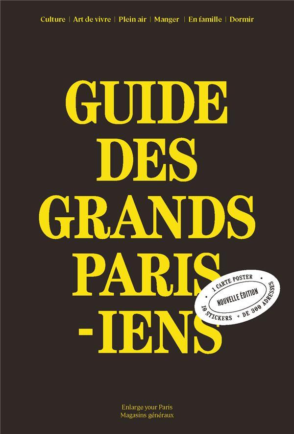 Guide des grands parisiens 2021-2023 /francais
