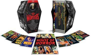 Universal Pictures Monsters - Coffret 8 films