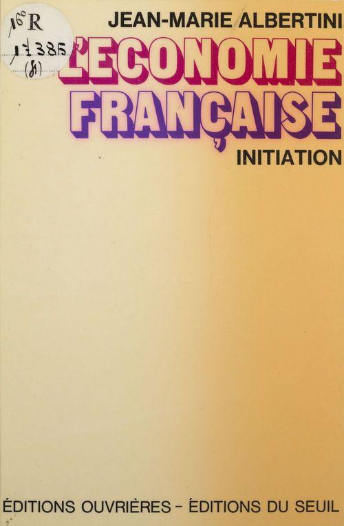 Economie francaise (l')