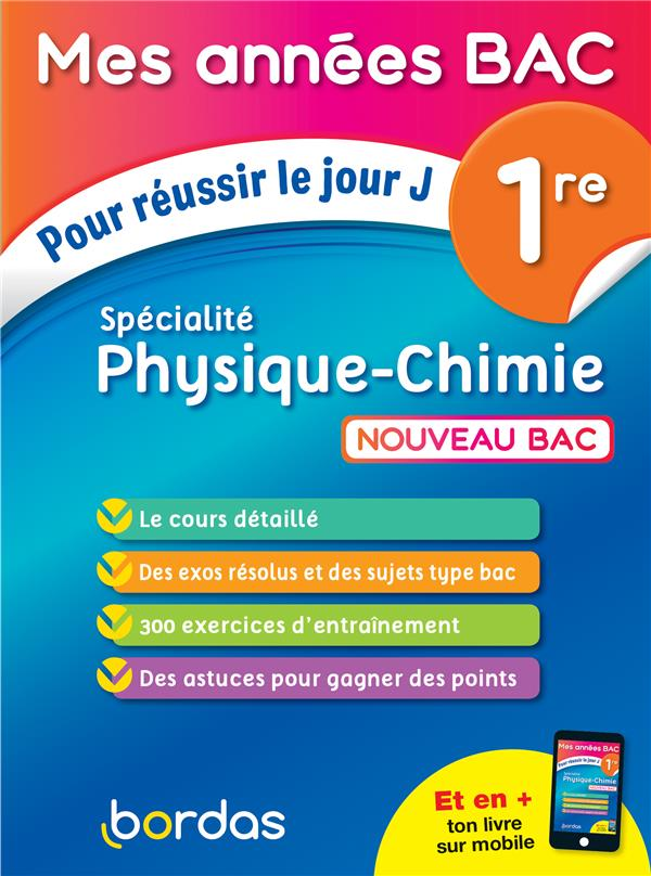 Physique-chimie ; 1re (édition 2019)