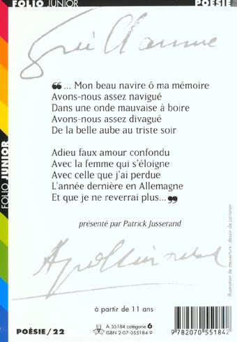 Guillaume Apollinaire ; un poète